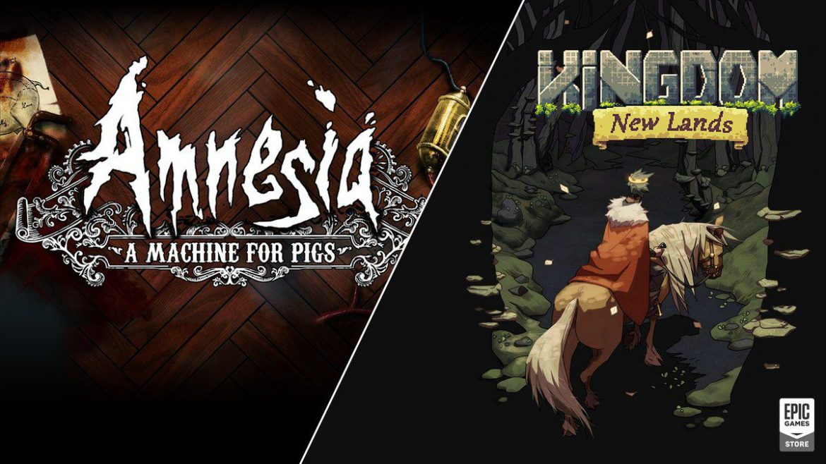 Amnesia: A Machine for Pigs e Kingdom New Lands, são as novas ofertas da Epic Games Store