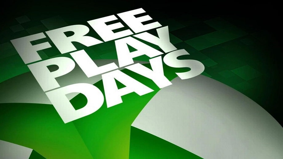 Conhece as novas ofertas do Free Play Days da Xbox