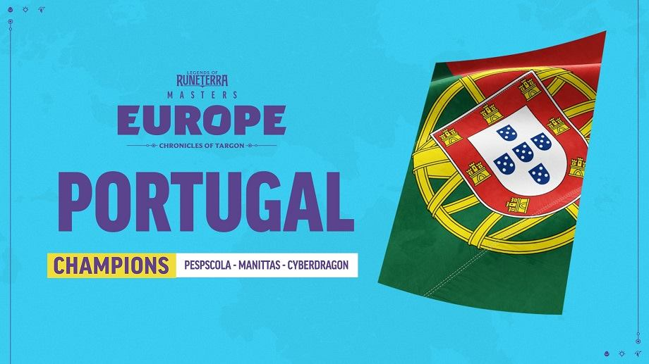 Portugal sagra-se campeão europeu de Legends of Runeterra