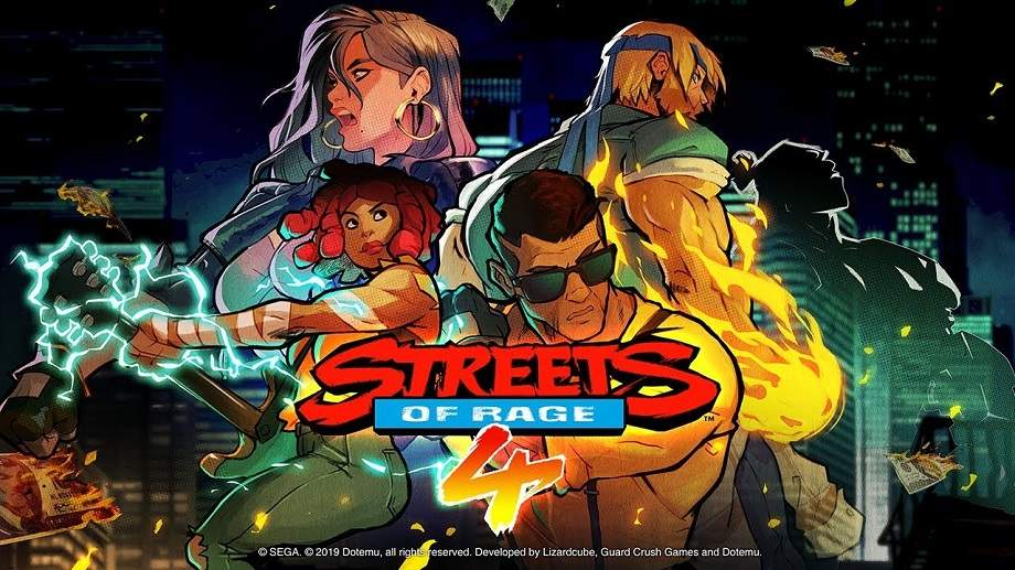 Novo DLC introduz personagens e modos em Streets of Rage 4